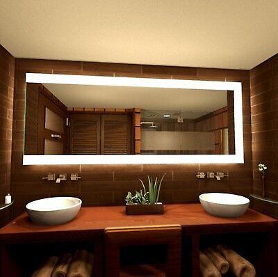 Beleuchteter Badspiegel Iris · Spiegel nach Maß · LED · EEK  A++