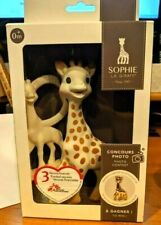 Rattle /& Toy Vulli Sophie The Giraffe Sophiesticated Birth Gift Set Small #3