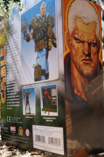 Cable Marvel Select Figura De Acción X-force X-men Diamond Select Toys vendedor Reino Unido