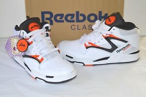 New Reebok Pump Omni Lite Dee Brown White Black Solar Orange Classic ... f13562c98c9d