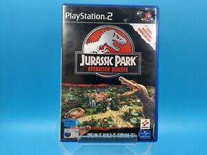 jeu-video-sony-playstation-2-PS2-PAL-complet-BE-jurassic-park-operation-genesis