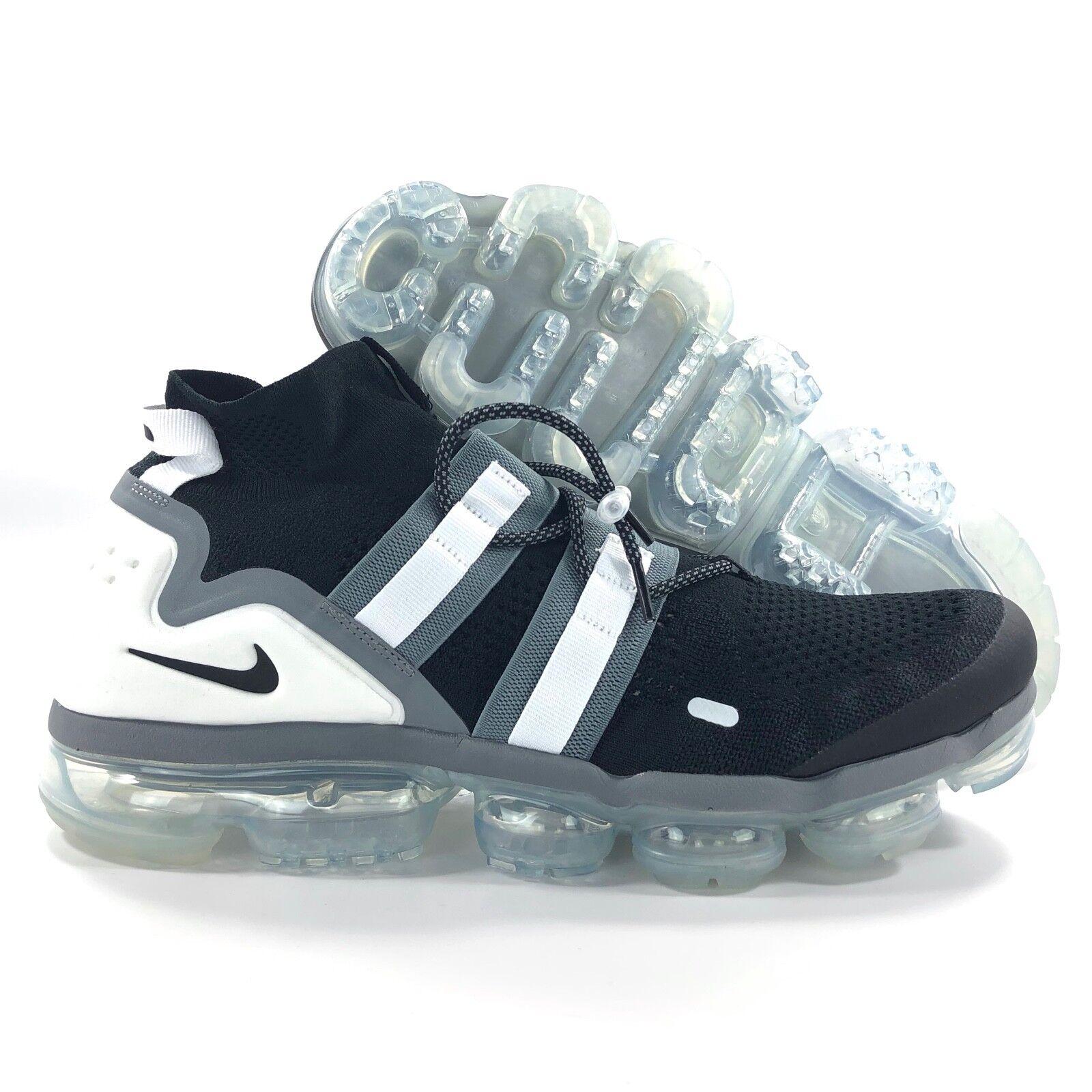 ce52ac9507b1 Nike Air Vapormax FK Flyknit Utility Black Grey White AH6834-003 AH6834-003  AH6834