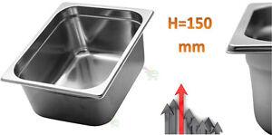 Schuessel-Becken-Container-Aisi-304-Edelstahl-fuer-Lebensmittel-32x26-X-h15-CM