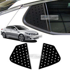Quarter Glass Sports Mask Matt Black Decal Stickers for KIA 2011-2015 Optima K5
