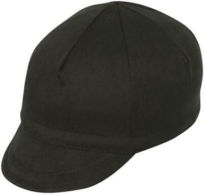 Pace Sportswear Euro Soft Bill Cycling Cap//Black//MD//LG