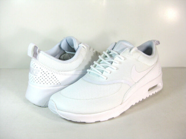 fb87f190c456 Nike Air Max Thea Womens Trainers Shoes Triple White Aus 5 for sale ...