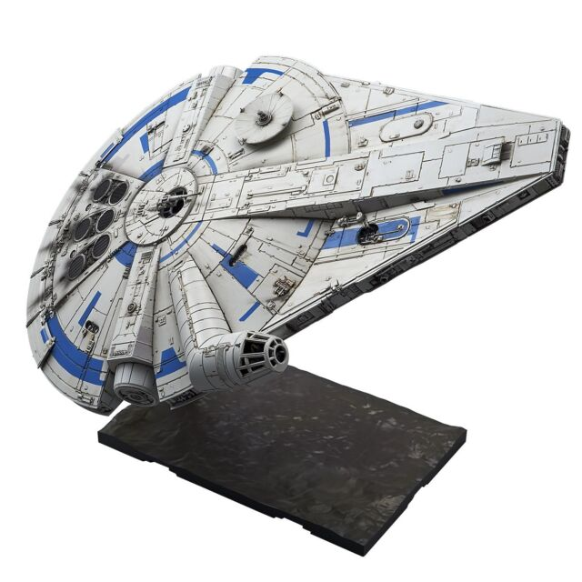 BANDAI Star Wars Millennium Falcon (Lando Calrissian Ver.) 1/144 Scale Kit JAPAN