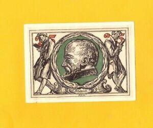 ARNSTADT-ALLEMAGNE-BILLET-MONNAIE-de-NECESSITE-illustre-ALEXIS-a-la-Lecture