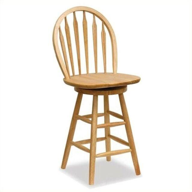 Fantastic Winsome Wood 24 Inch Windsor Swivel Seat Bar Stool Natural Lamtechconsult Wood Chair Design Ideas Lamtechconsultcom