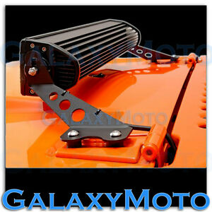 20-034-LED-Light-bar-Steel-Hood-Mounting-Brackets-kit-for-07-17-Jeep-JK-Wrangler