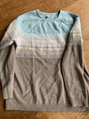 l l bean woman cashmere large sweater