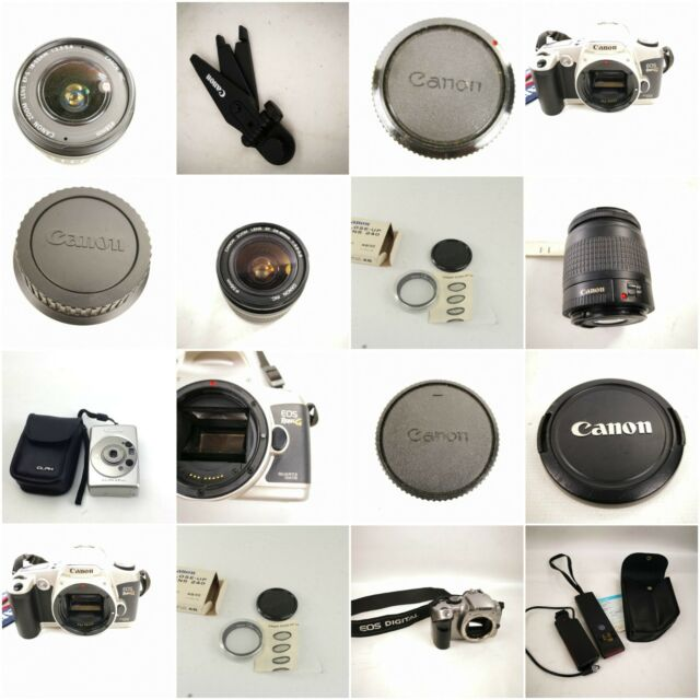 Canon Camera Eos Rebel Lense Cap Wireless Controler Genuine Parts