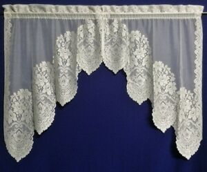 Gorgeous-Heritage-Lace-Cleremont-Swag-Pairs-Valances-and-Tiers-White-and-Cream