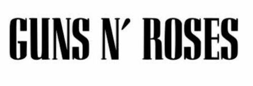 Vinyl Guns N/' Roses Decal Sticker multi size colours car laptop phone glass cup