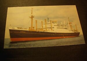 Old-Post-Cards-034-Noordam-034-Holland-American-Line-PA4