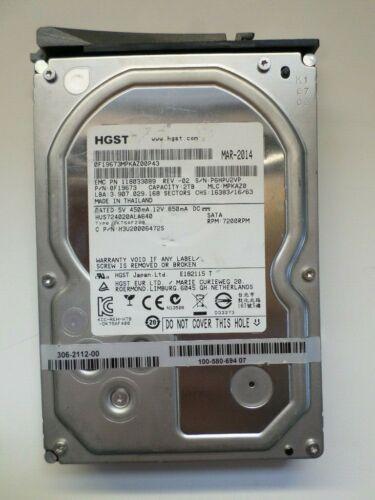 HUS724020ALA640 HGST Ultrastar 7K4000 2TB SATA3 6.0Gb//s 7K2 LFF HDD