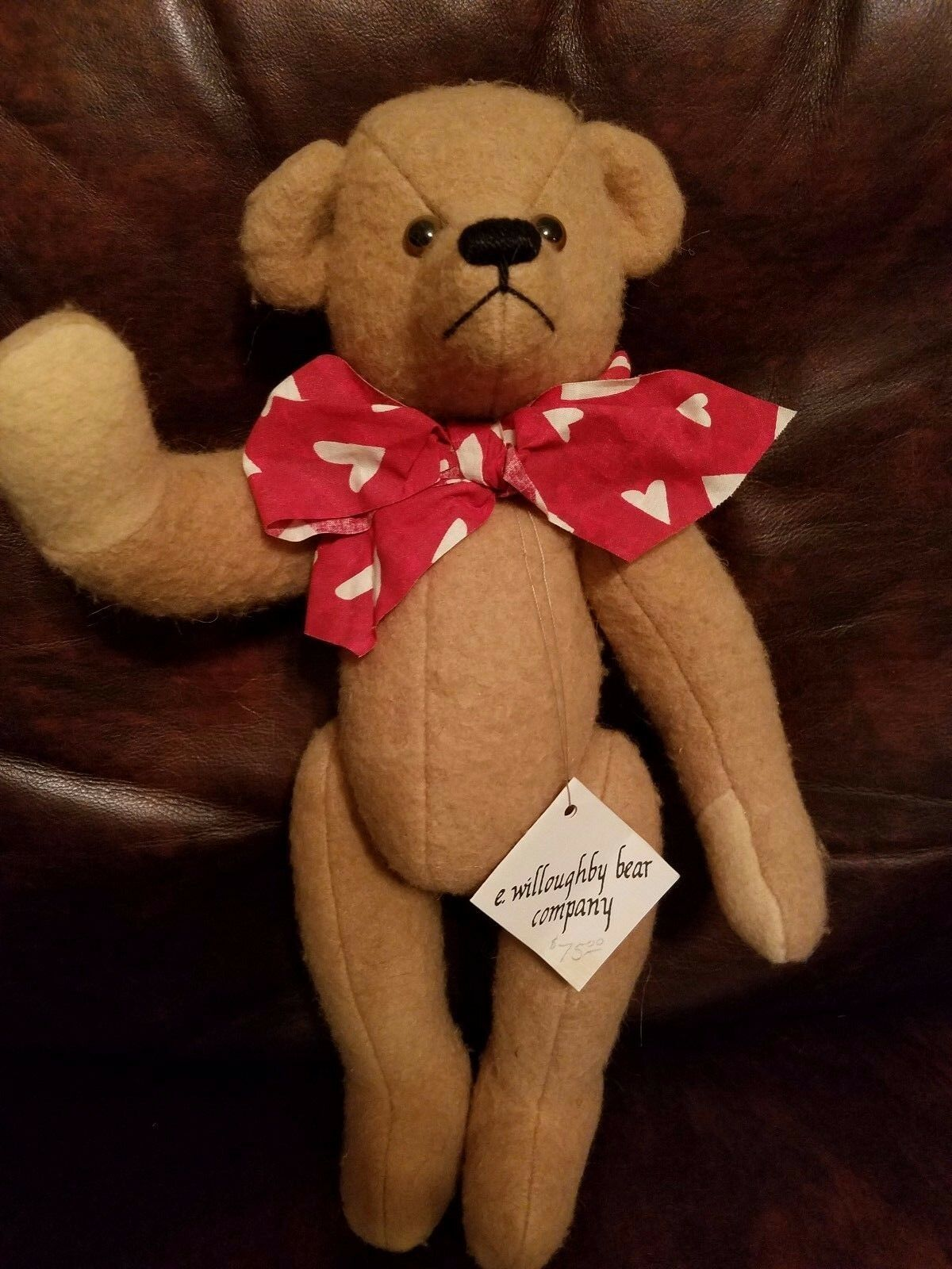 16   name Blanket Bear by Anne Cranshaw e. willoughby bear company