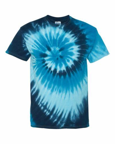 Dyenomite Tide Tie Dye T Shirt Homme Femme EDM Hippie Stoner Tee teint 200TI NEUF
