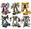 18cm Transformer Action Figures Kid Toy Optimus Prime Ironhide Bumble Bee Robots