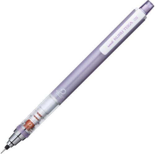Uni KURU TOGA Auto Lead Rotation Mechanical Pencil 0.5mm Violet Body