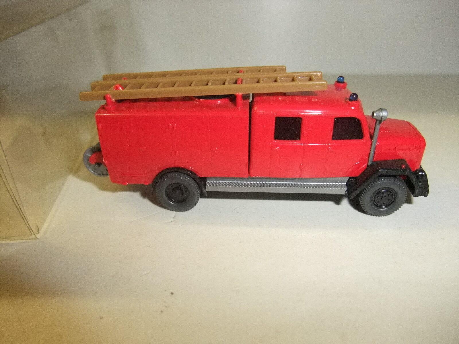 K11 12 Modelleisenbahn Spu H0 Modellauto LKW LKW LKW Feuerwehr Magirus Saturn Wiking Neu 3d8129
