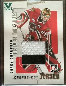 Corey-Crawford-2007-08-Between-the-Pipes-Rookie-Jersey-Card-Chicago-Blackhawks
