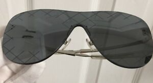 ca863b0aaa6 Image is loading Auth-Chanel-Shield-Airline-Runway-Sunglasses