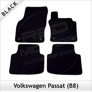 VOLKSWAGEN-VW-PASSAT-B8-2014-IN-POI-TAPPETI-AUTO-SU-MISURA-tappetini-Nero