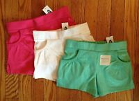 Girl's Old Navy Soft Cotton Shorts - Sizes 18-24, 2t, 3t, 4t