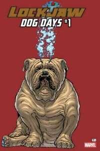 Lockjaw-Dog-Days-1-in-Near-Mint-condition-Marvel-comics-2b