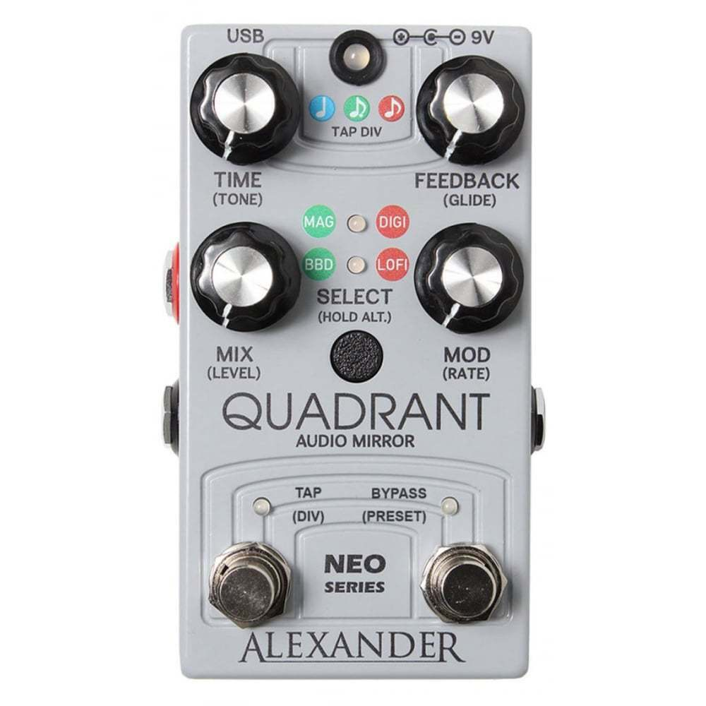 Alexander Pedals Quadrant Audio Mirror Delay - Brand New - Official Dealer