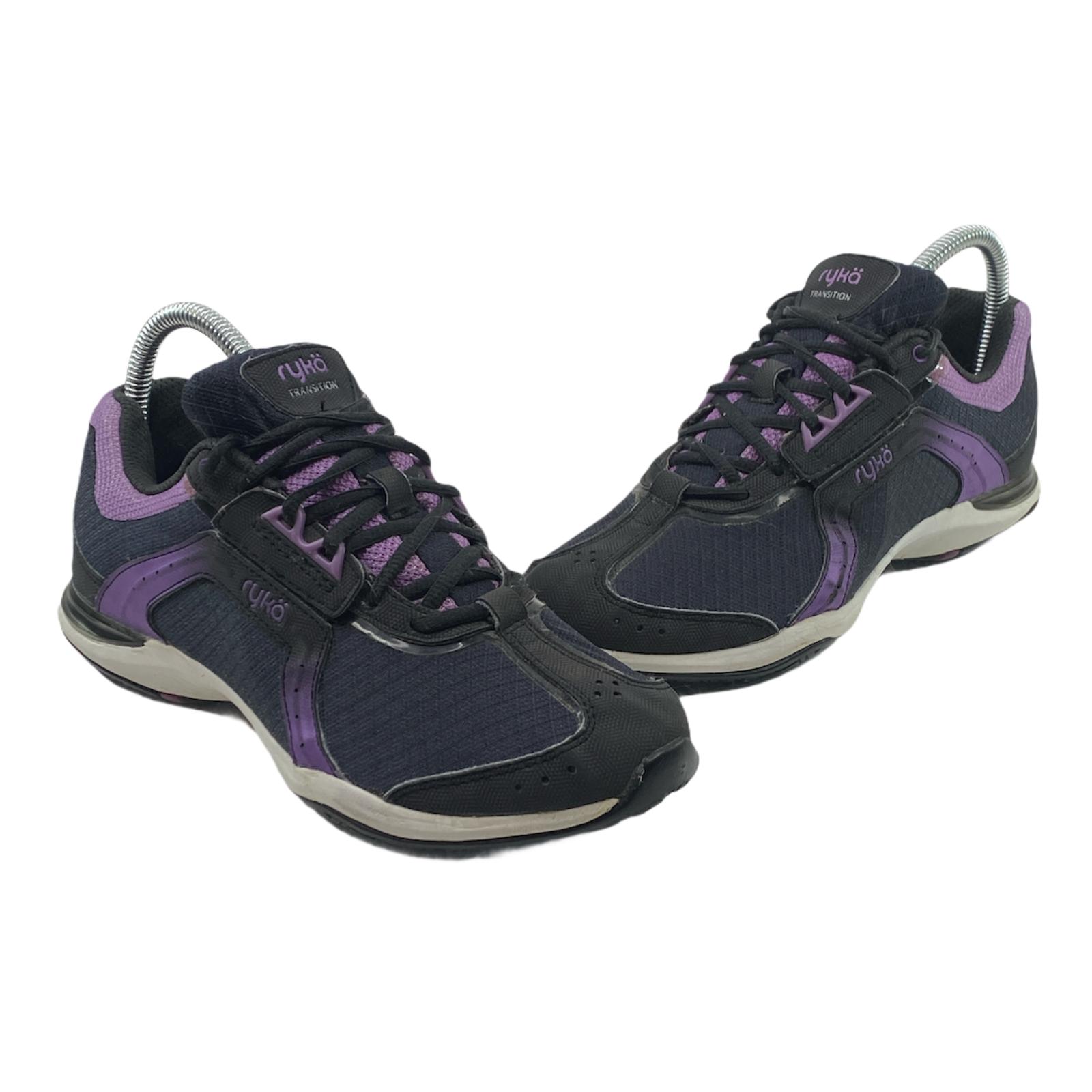 Ryka Transition Kelly Ripa femme taille us 7 Noir Violet entraînement Athlétique Chaussures