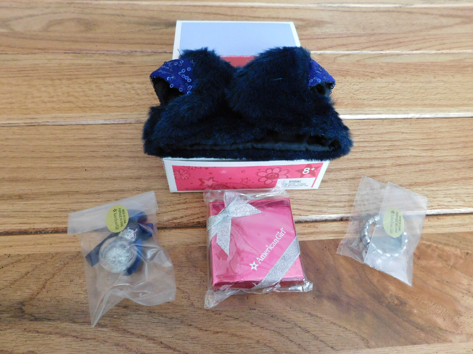 for Doll Retired Candy American Girl MY AG HOLIDAY ACCESSORIES HAPPY HOLIDAY