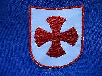 PORTUGAL CRUSADER CROSS PATCH 74mm