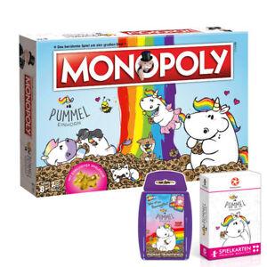 Monopoly Pummeleinhorn Edition Jeu De Société Licorne Ensemble Allemand