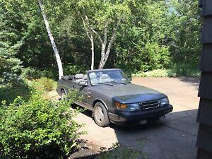 1993 Saab 900 turbo convertible