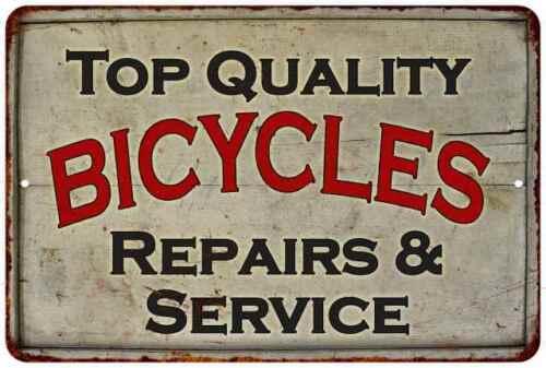 Bicycle Repair Vintage Look Chic  Metal Sign 108120020017