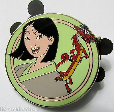 Best Friends Mystery Pack Mulan and Mushu Disney Pin 90185