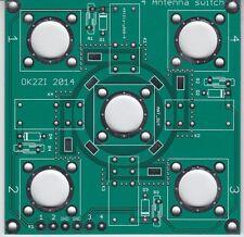 4:1 Kurzwellen Antenne Schalter Leiterplatte  N-Konnektor oder SO-239
