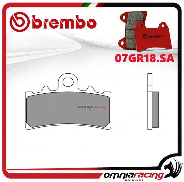 Brembo SA - pastillas freno sinterizado frente para KTM Duke 250 2012>2014