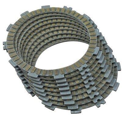 9 Pcs Set Clutch Friction Plates for KAWASAKI ZX 600 Ninja ZX-6R 2000 2001 2002