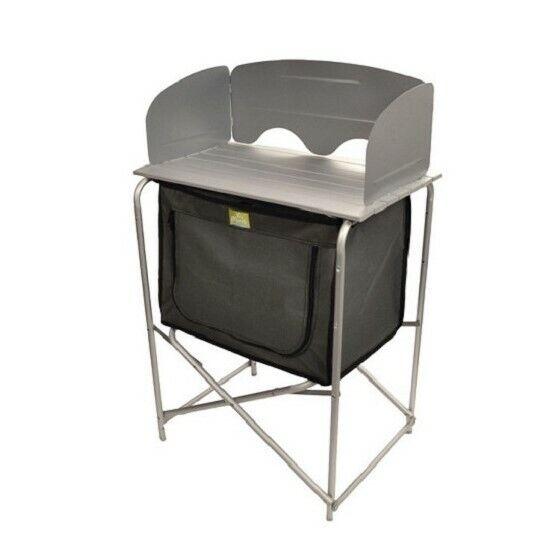 Mueble de cocina compacto VIA MONDO color gris para camping ,caravana y...