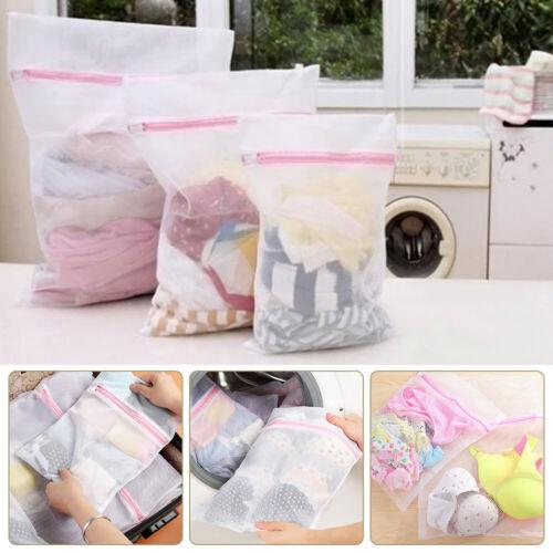 Underwear Clothes Bra Socks Laundry Washing Machine Net Mesh Bag 3 Sizes