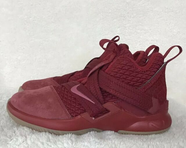 20fa55de21e Nike Lebron Soldier 12 SFG Little Kids Ao2912-600 Team Red Shoes Youth Size  1 for sale online