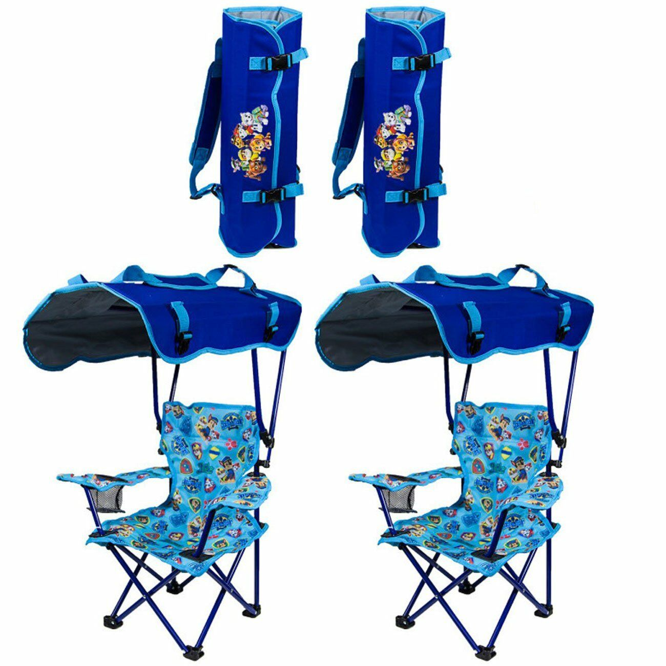 Stupendous Kelsyus Kids Paw Patrol Portable Folding Kids Canopy Lounge Chair 2 Pack Camellatalisay Diy Chair Ideas Camellatalisaycom