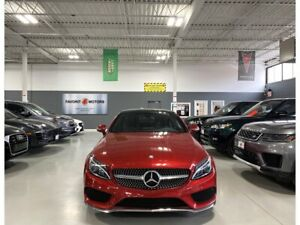 2017 Mercedes-Benz Classe C C300|COUPE|4MATIC|DESIGNO RED|NAV|AMG ALLOYS|+++