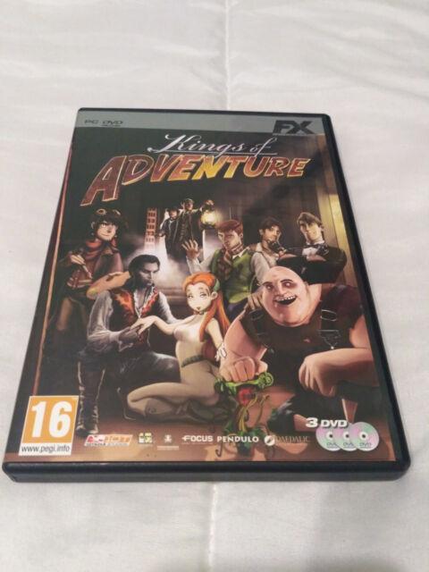 Kings of Adventure Pc DvdRom FX Interact Hollywood Monsters 1+2 Jack Keane y mas
