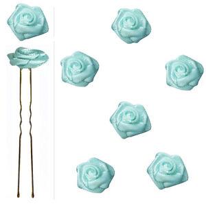 6-epingles-pics-cheveux-chignon-mariage-mariee-danse-roses-satin-bleu-pale-clair