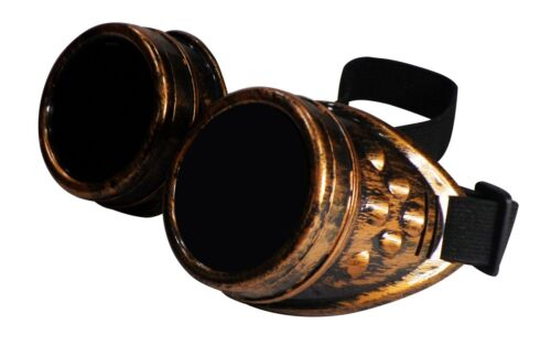 Steampunk Clothing Fancy Dress Mens Ladies Cosplay Vintage Goggles Rustic Cyber