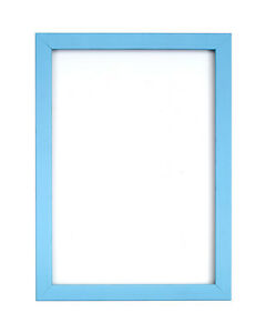 Details About Light Blue Picture Frame Photo Poster Rainbow Range A4 A3